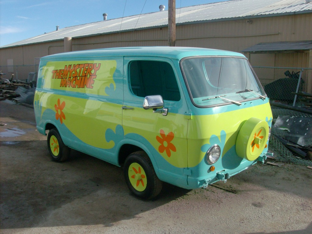 The Scooby Doo van built for, and is on display at the Dezer Automotive Museum in Miami, Florida.