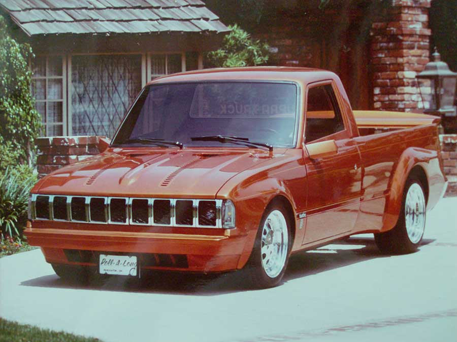 """Designed and built by Keith Dean. The Toyota truck """"Supera Truck"""""""