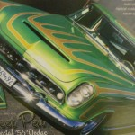 """""""Sweet Pea"""", Keith Dean finished this old custom and painted it."""