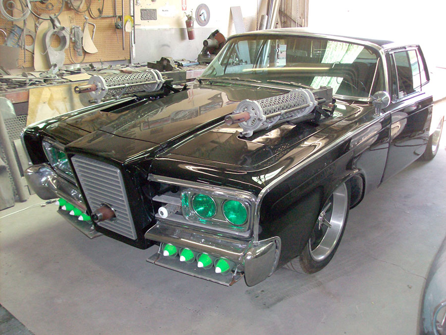 "The ""Green Hornet"" movie car restored for the Volo Automotive Museum"