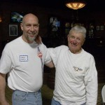 Keith Dean with good friend,Dean Jeffries