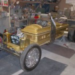 The Drag-u-la was built for the Volo Automotive museum in Volo Illinois