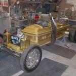 The Drag-u-la was built for the Volo Automotive museum in Volo Illinois