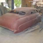 Jan Strudwick's '50 Merc 4-door starting the restoration process