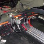 Batmobile #3 dash and interior work underway