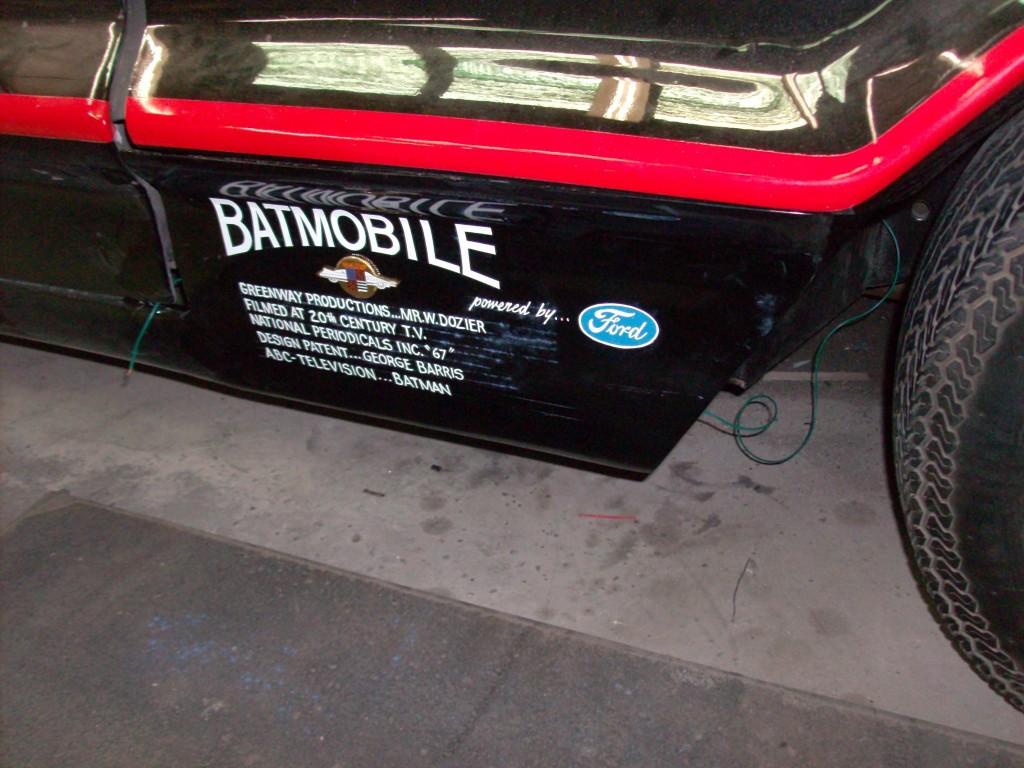 Batmobile #3 Credentials