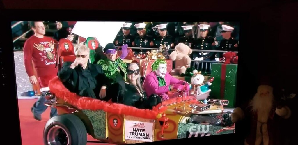Jokermobile in the Hollywood Christmas Parade